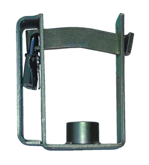 Heavy duty trailer coupling lock