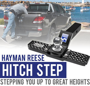Hitch step large