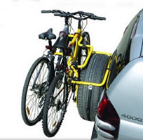 Rhino Spare-wheel bike carrier