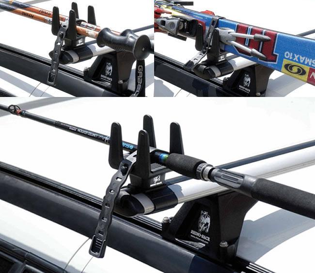 Rhino rack rmph multi purpose holders for Thule fishing rod holder