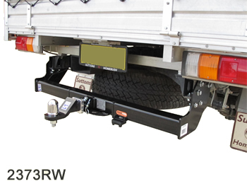 Holden Colorado Cab Chassis towbar