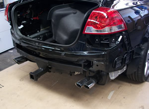 Towbar fitting to VE Commodore