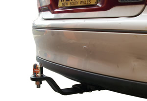 Holden Commodore VT tow bar