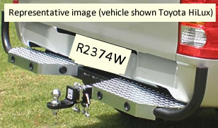 Holden Rodeo towbar R2374W