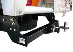 Holden Rodeo towbar