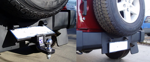 Awesome Jeep Wrangler Tow Bar