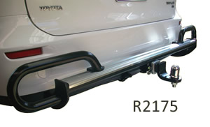 Tow bar protection Toyota Tarago