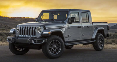 Jeep Gladiator vehicle pic