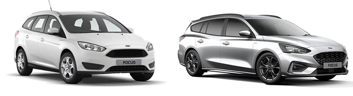 Ford Focus wagon vehicle image