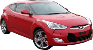 Hyundai Veloster vehicle pic