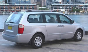Kia Grand Carnival vehicle image