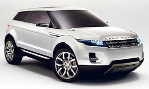 Landrover Evoque vehicle image