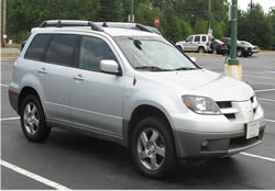 Mitsubishi Outlander vehicle pic
