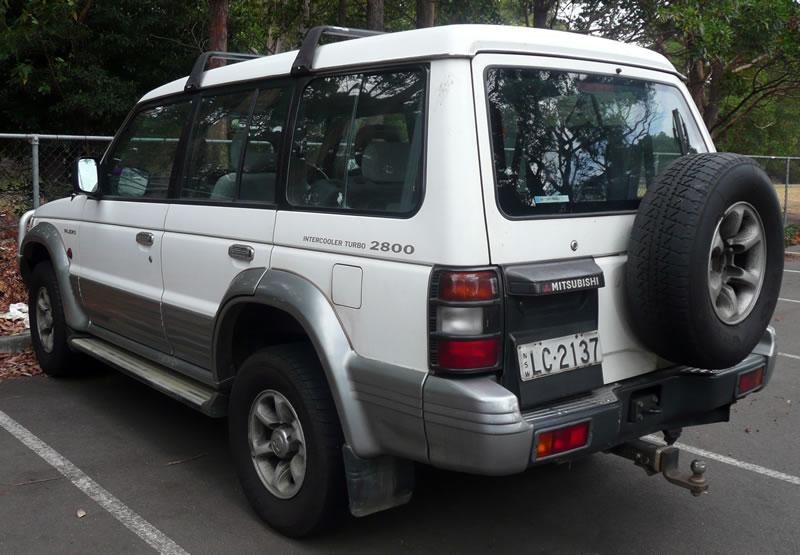 Don Jackson Mitsubishi >> Mitsubishi Pajero 1991
