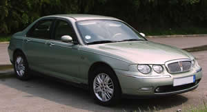 Rover 75 vehicle image