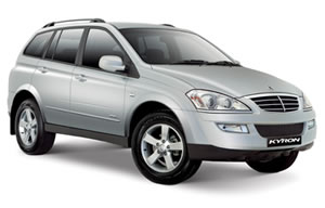 Ssangyong kyron vehicle image