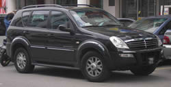 Ssangyong Rexton vehicle image