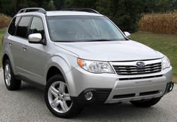 Subaru Forester vehicle pic