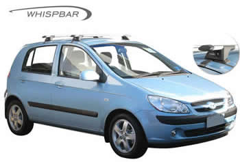 Hyundai Getz Whispbar roof rack
