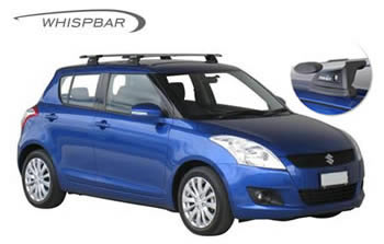 Roof racks Suzuki Swift Prorack Whispbar