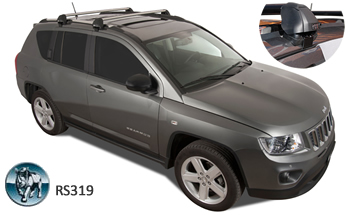 Roof racks Jeep Compass