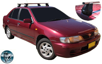 Nissan Pulsar roof racks