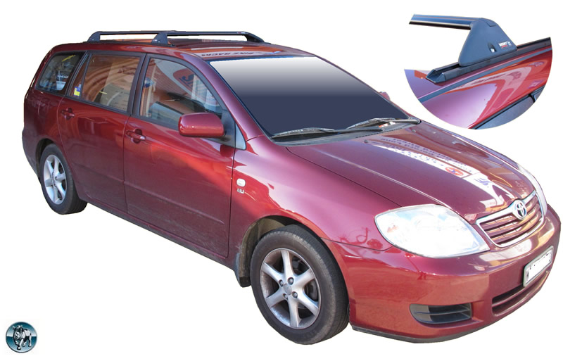 Permanent Track System Link To Toyota Corolla Wagon Roof Racks