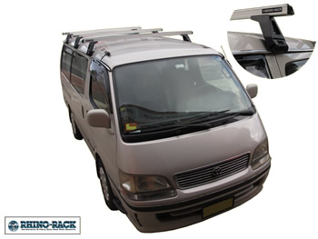 Toyota HiAce roof racks