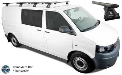 Rhino Roof Racks VW Transporter T5