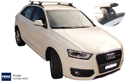 Audi Q3 Thule Roof Racks