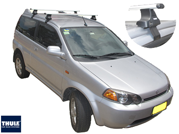 Honda HRV roof racks