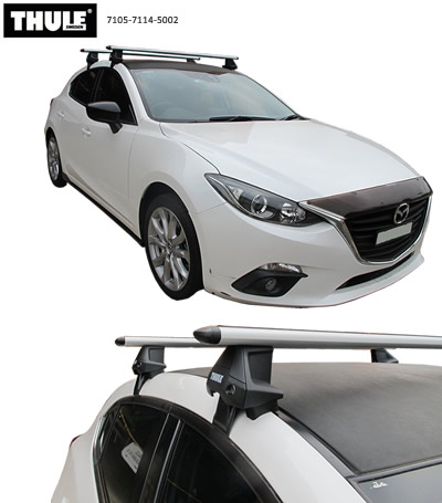 Thule Mazda 3 roof racks